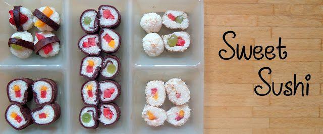 Sonntagssüß - Süßes Sushi