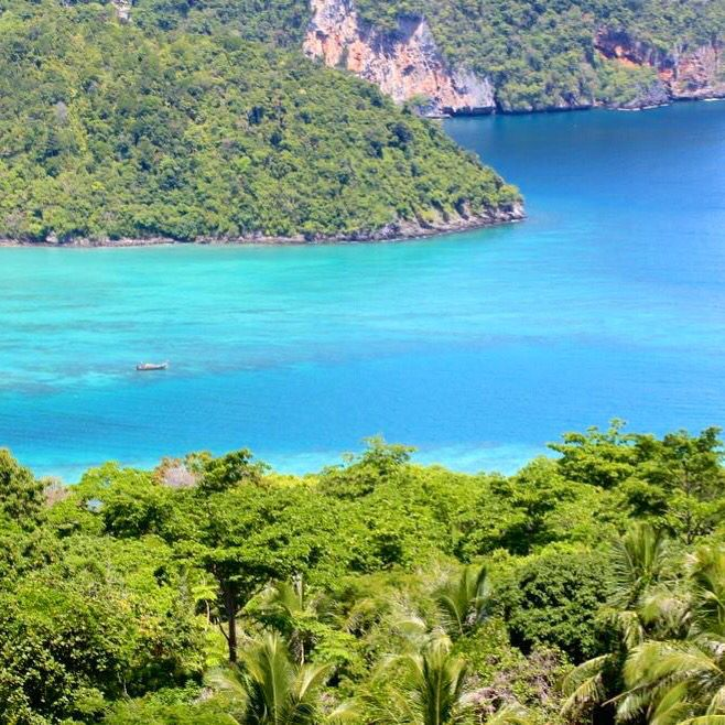 Double tap if you wish you were here! #thailand #asia #phiphidon #travel #adventure #tropical #paradise #beach #beautiful #rainforest ☺️