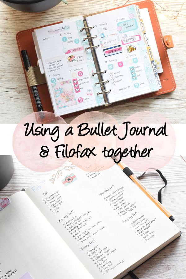 A run down of how I use my Filofax and Bullet Journal together and an update on how my bujo is going!
