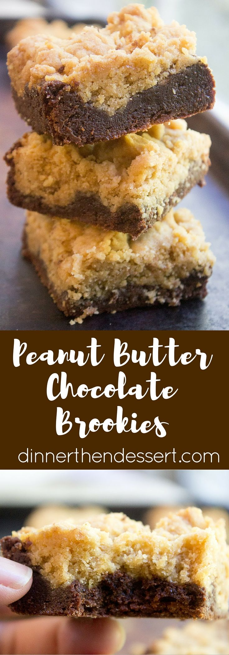 Peanut Butter Chocolate Brookies are an indulgent combo of rich Peanut Butter…
