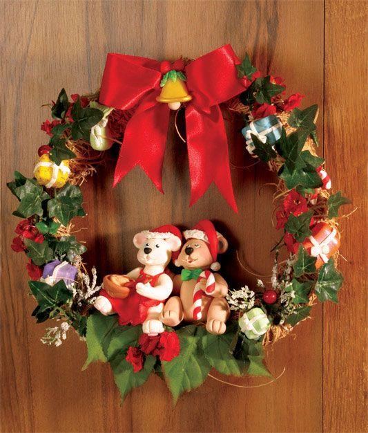 Guirlanda natalina de biscuit / DIY, Christmas, Craft