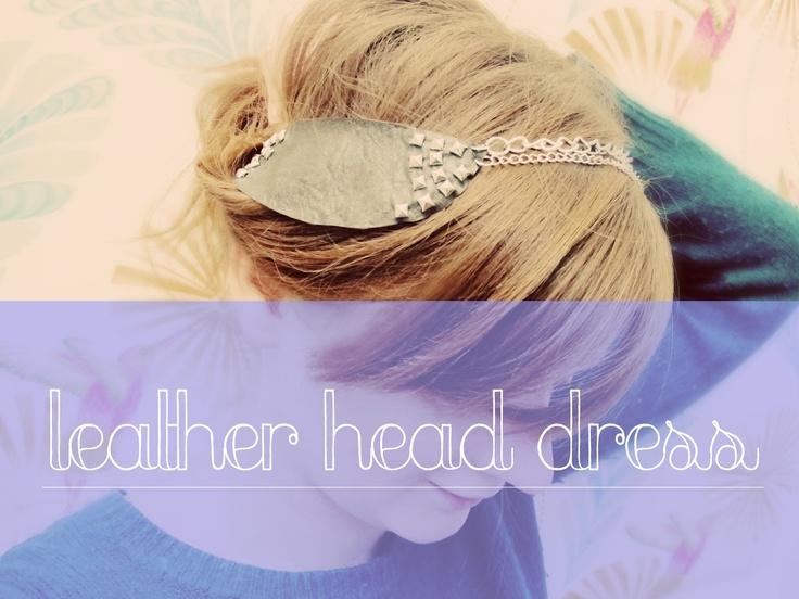 Feather head dress DIY
