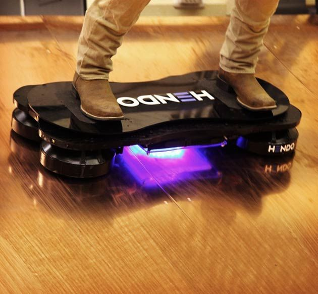 Good news, Futurists and Marty McFly wannabees—last month, Hendo Hoverboards, the world's first real hoverboard was successfully funded on Kickstarter, and is scheduled to be ready on October 21, 2015.