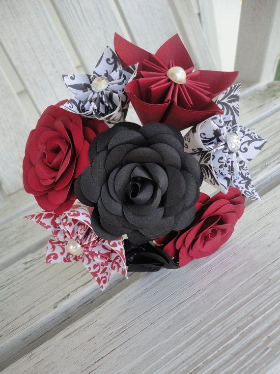 79 best Kusudama Flower Bouquets images on Pinterest | Bridal ...
