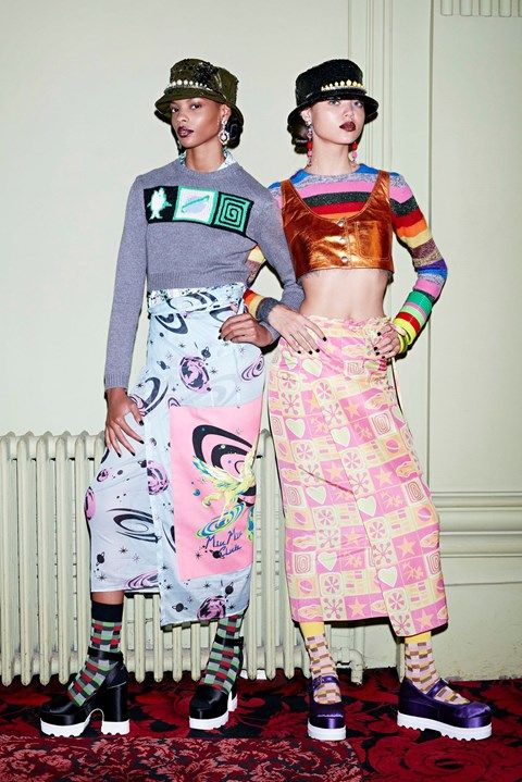 Miu Miu brings 90s rave culture to Couture Week