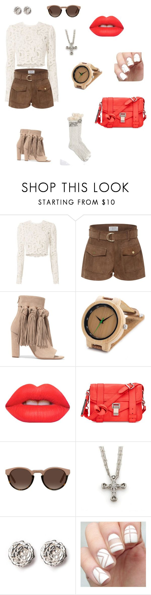 """""""set 6"""" by natucsya on Polyvore featuring мода, A.L.C., Frame, Chloé, Lime Crime, Proenza Schouler и LeiVanKash"""