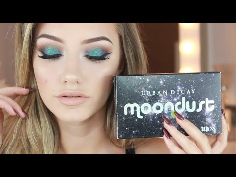 NEW Urban Decay Moondust Palette Makeup   Jazzi Filipek - YouTube