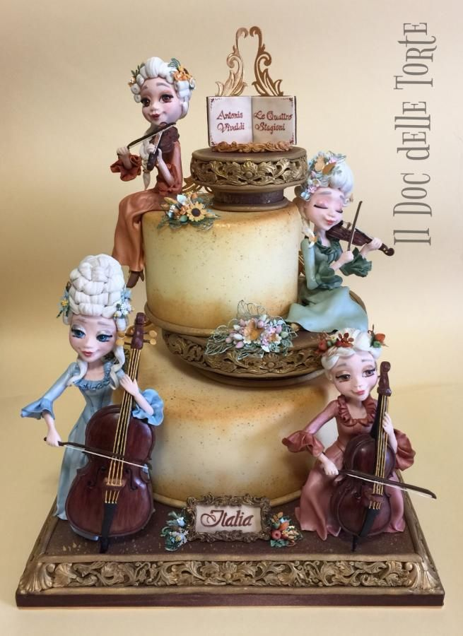 Vivaldi - The Four Seasons cake by Davide Minetti