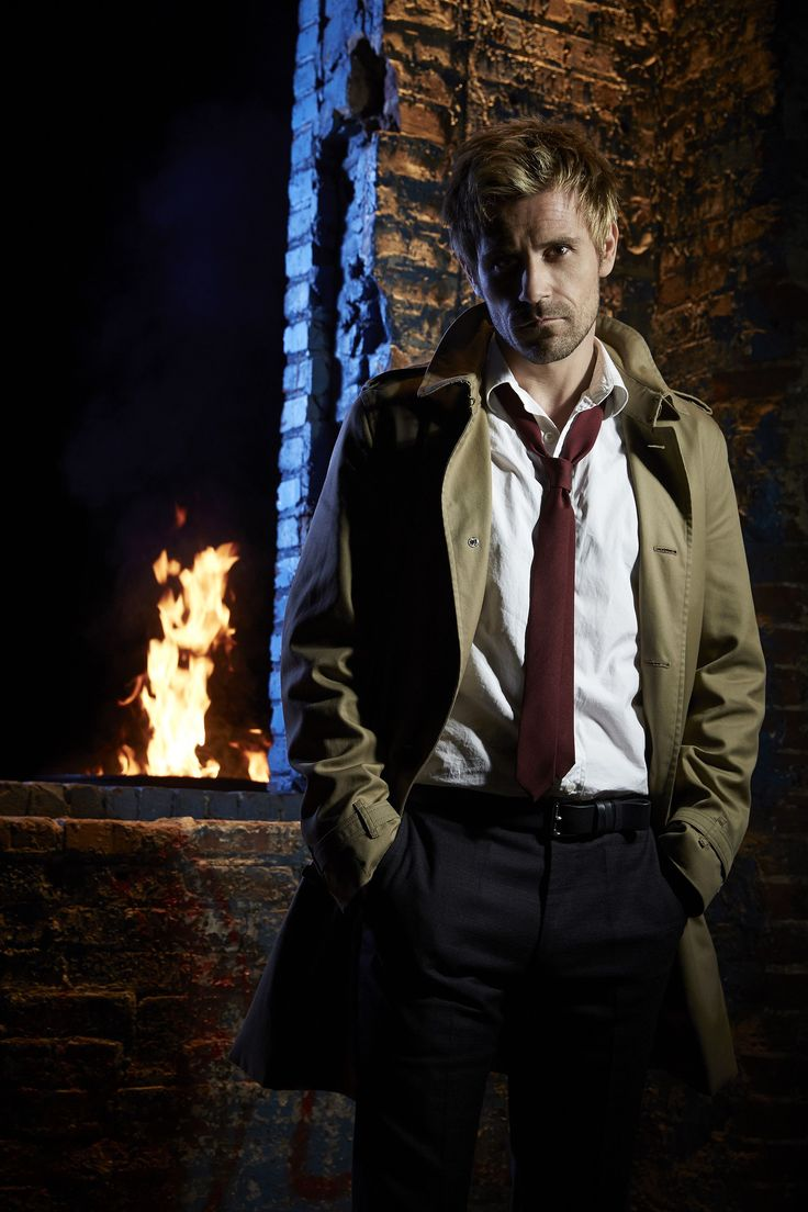"Constantine (2014-2015) Matt Ryan as ""John Constantine"""