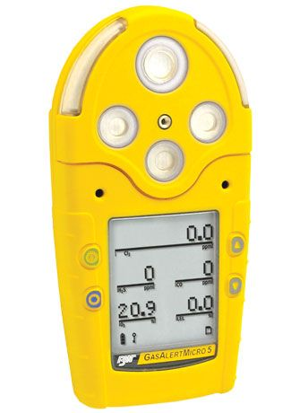 BW Technologies GasAlert Micro-5 Multi Gas Detector & #Gas #Detection