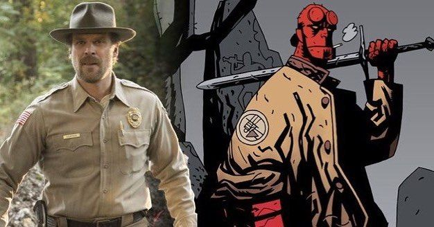 'HELLBOY' Reboot To Start Filming This Fall! *LINK IN BIO* #comicboiz #comicnews #hellboy #davidharbour #neilmarshall