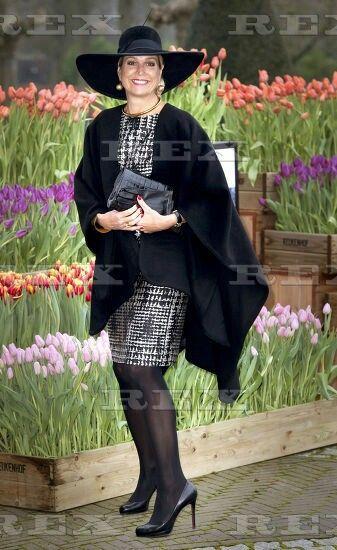 Queen Maxima attends the Horticultural Entrepreneur Award 2016, Lisse, The Netherlands - 06 Jan 2016