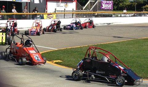 Quarter midget race sponsored by pit products pit stop for Coast to coast motors hayward
