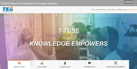 Region 13 | Texas Teacher Evaluation and Support System (T-TESS)