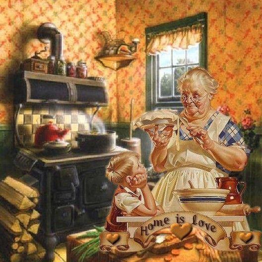 Grandma's Kitchen Doug Knutson