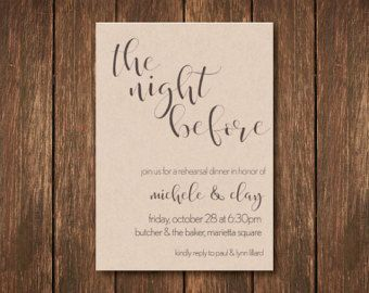 Art Deco Rehearsal Dinner Invite Printables by DesignsMadeSimple