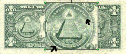 "Other than the all-seeing-eye on the back of the dollar bill, there are other interesting things about the currency. Above the the pyramid it says ""Annuit Coeptis"", which means ""He is pleased with our project"", their God, or the anti-Christ and Satan..."