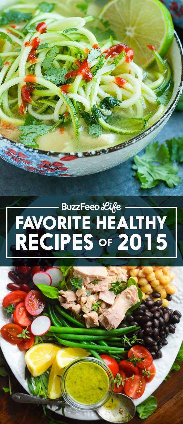 These Are The Healthy Recipes That Won 2015 #recipes #popular
