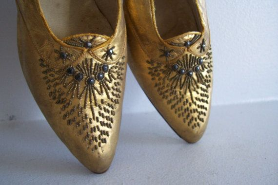 SALE   Vintage Edwardian Ladies' Shoes von sdbees1030 auf Etsy, $180.00