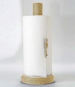 how to make a rope out of paper towel