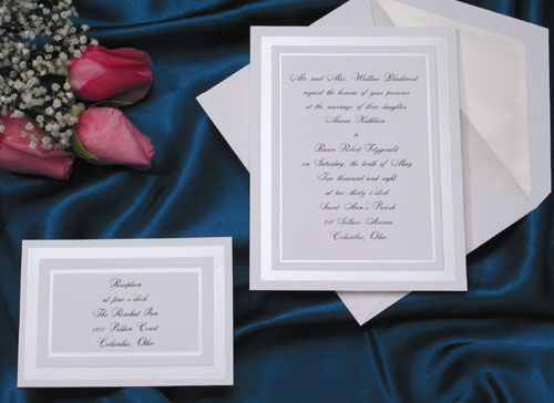 51 best images about Traditional Wedding Invitations on Pinterest