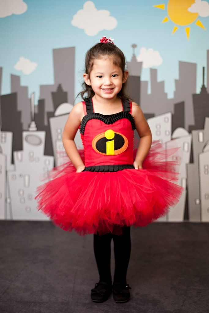 The Incredibles Tutu Costume