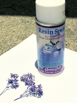 resin gloss sealer spray