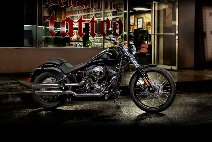 2012 Harley Davidson Blackline