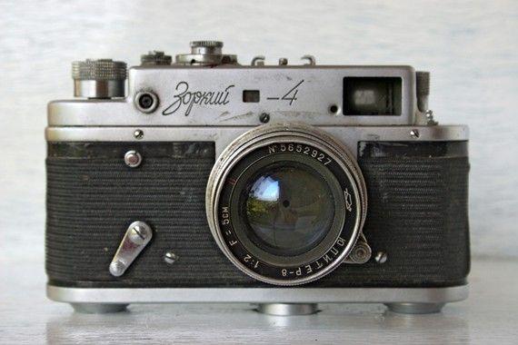 Vintage Russian camera on Etsy