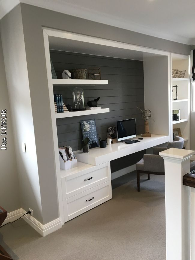 Desk Idea House In 2019 Pinterest Home Office Design