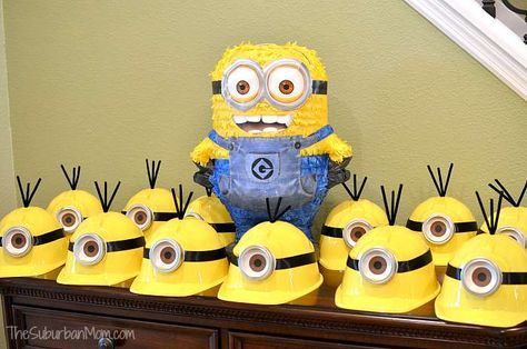 Minion Party Hat Favors