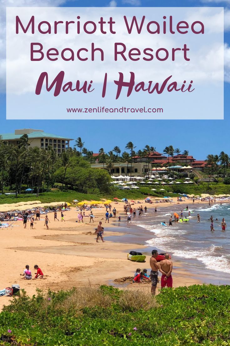 Marriott Wailea Beach Resort Review Maui Hawaii With Images