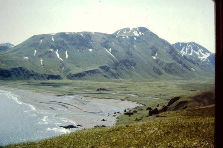 Looking east over lower Steller's Valley, Attu Island, Alaska