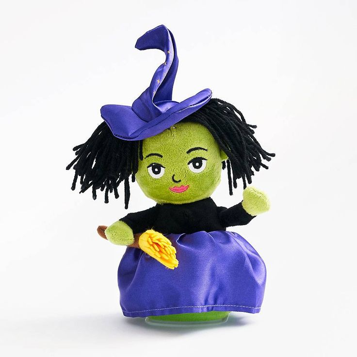 Talking Witch Plush Paper Gifts Stationery Store Witch