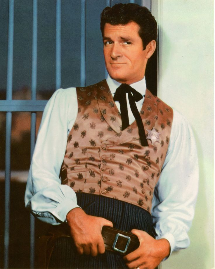 Hugh O'Brian...Wyatt Earp