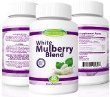 White Mulberry Leaf Extract Formula - High Blood Sugar Support and Control: Helps Lower Blood Sugar Levels Naturally, Burn Fat and Lose Weight Fast - Might Be What the Dr. Ordered - Diet Supplement Solution- With Vital Nutrients Garcinia Cambogia, G