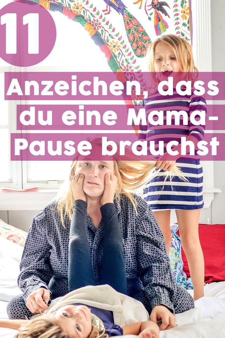 Manchmal brauchen auch die nervenstärksten Mütter eine kleine Auszeit. Wann wir mal wieder Pause machen sollten, verraten diese eindeutigen Anzeichen! #Mamasein #MamaPause #Auszeit #MamaAuszeit #AnzeichenPause #MiniUrlaub