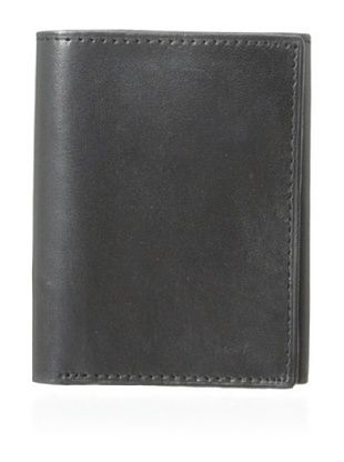 53% OFF Joseph Abboud Men's Glove Leather Slim Tin Trifold (Black)