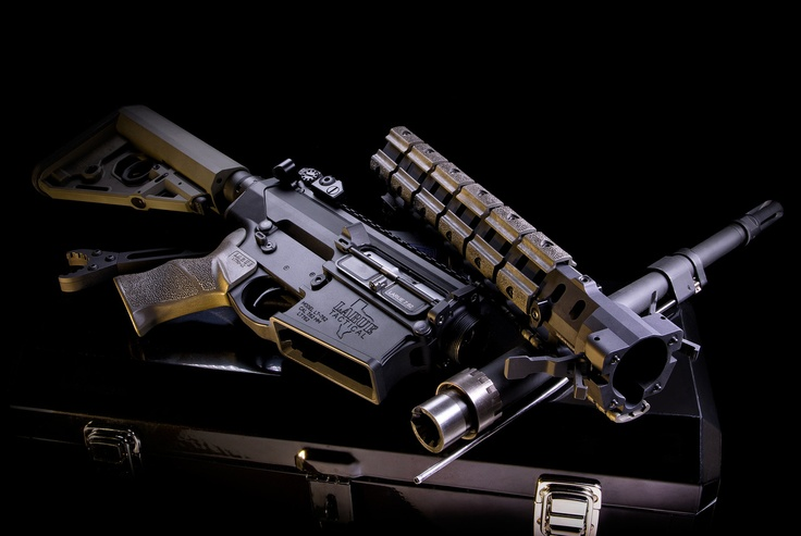 """LaRue Tactical 14.5"""" 7.62mm PredatOBR with the following ..."""
