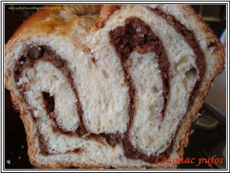 Micuta bucatarie a Ramonei: Cozonac pufos la masina de paine