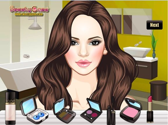 Colorful Makeover Game