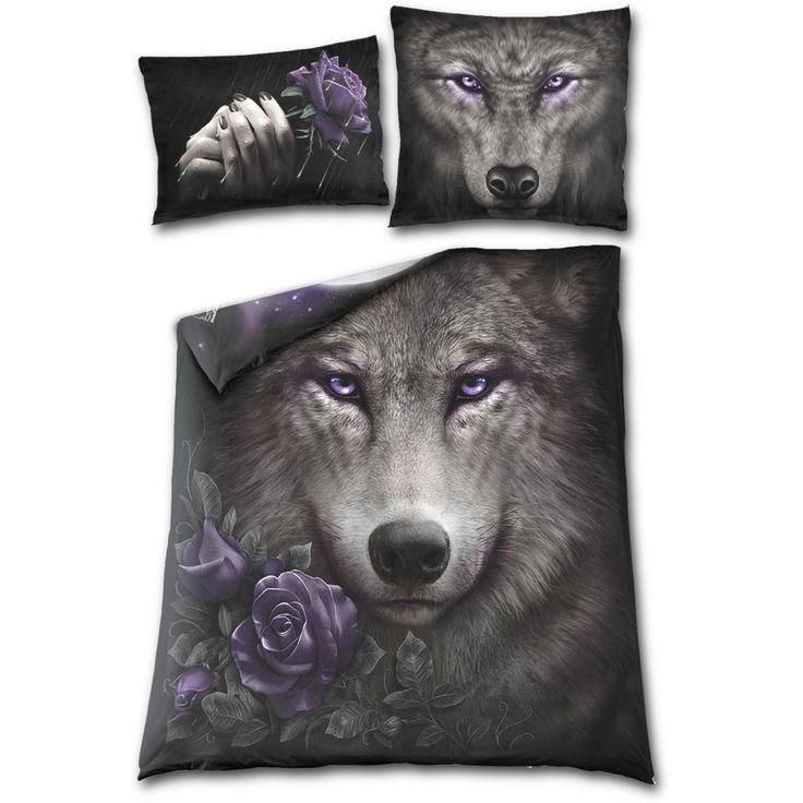 WOLF SOUL - Double Duvet Cover + UK And EU Pillow case