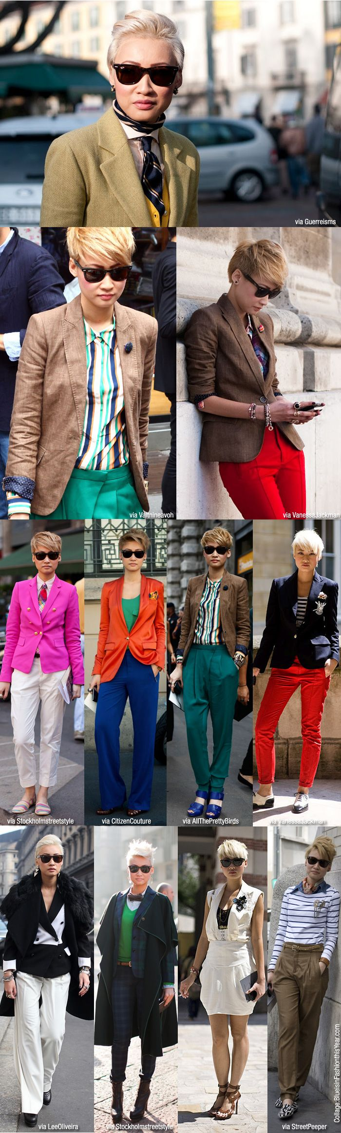 this flawless lady esther quek is the fashion director at menswear magazine the rake
