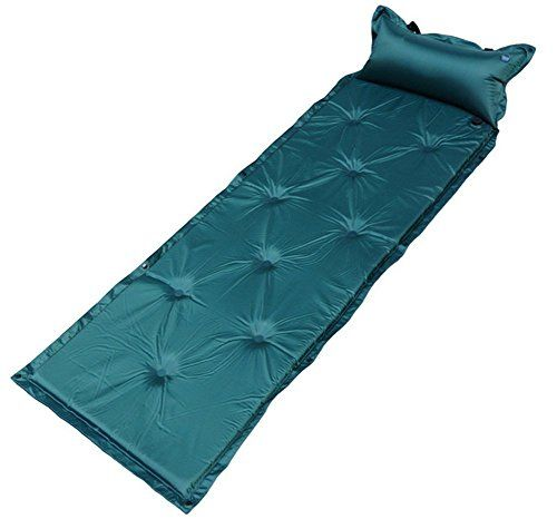 Sleeping Pad Air Mattress Self Inflating For Camping Dark Blue Want Additional Info