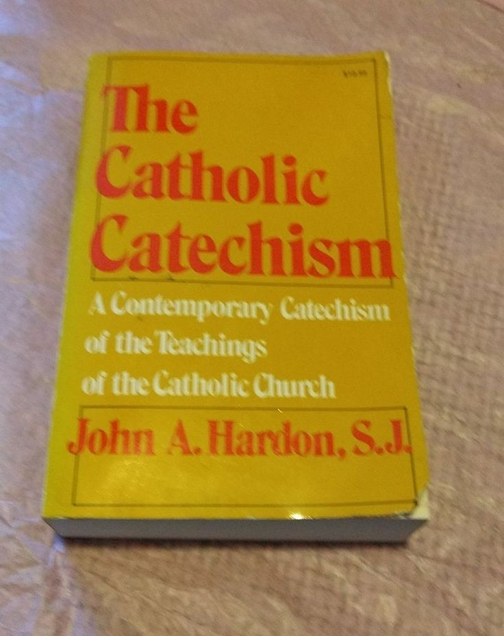 The Catholic Catechism book GUC by John A. Hardon, S.J. | Books, Textbooks, Education | eBay!