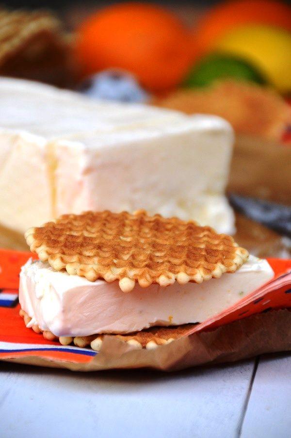 Griekse Yoghurt Citrus Roomijs - zonder ijsmachine