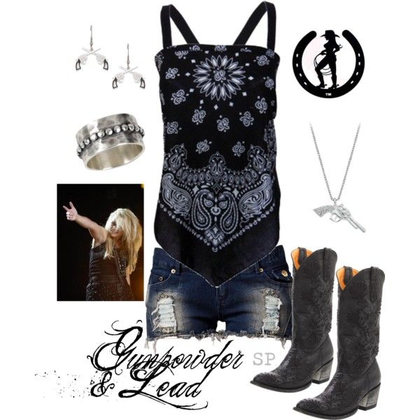 """Gunpowder & Lead"" by srose38 on Polyvore"
