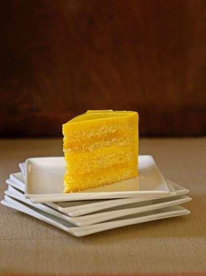 Lemon cake from J.'s birthday