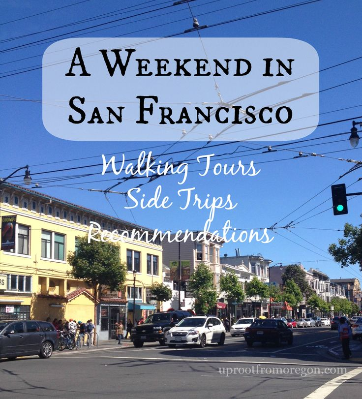 A Weekend In San Francisco: Walking Tours, Side Trips to Napa and Berkeley, and Foodie Recommendations // uprootfromoregon.com