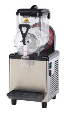 I could have my own Slurpee machine! Frozen Beverage Machine, (1) 1.5-Gal Bowl w/ Spill Protector Spout
